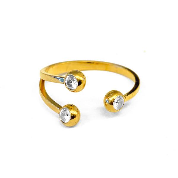 Ring • ZAG | 3 Stones