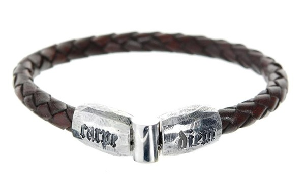 Armband • Carpe Diem   Jointlock Facetted