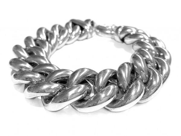 Armband • 925 Sterling Silber | Rhodiniert | Massiv