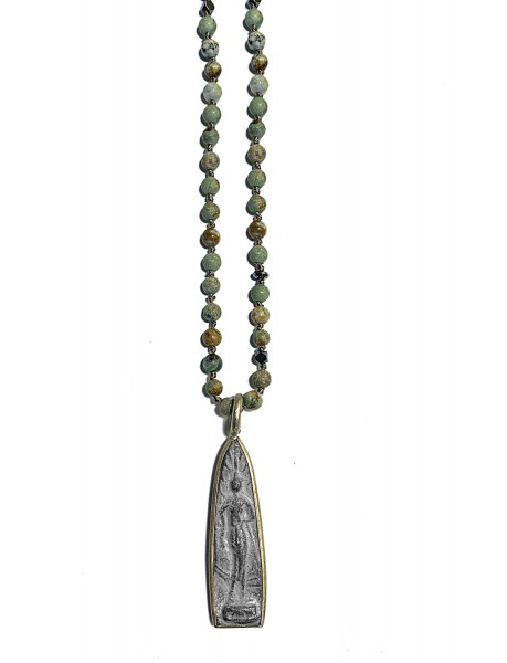 ICON • Kette Buddha51 | African Turquoise
