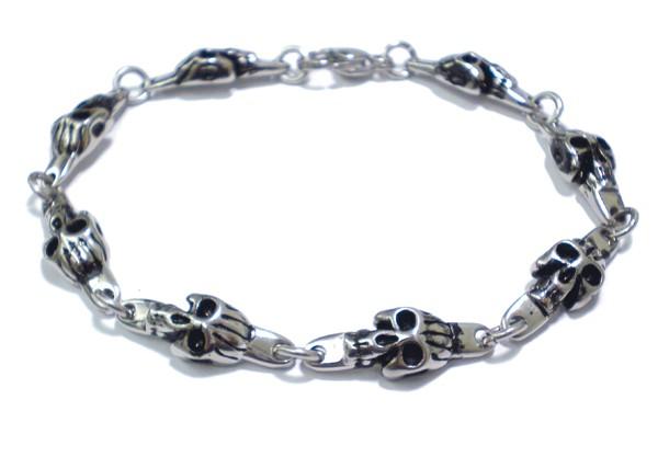 Armband • Skulls | Edelstahl