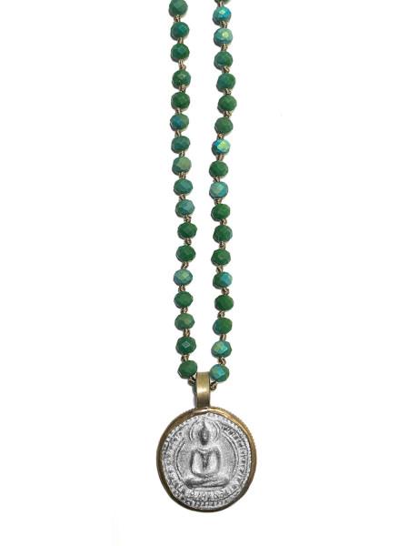 Kette • ICON Buddha30 | Crystal Green