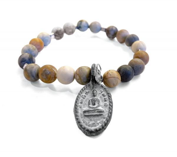 ICON Armband • Shanti Buddha9 | Picasso Jasper