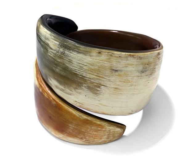 Armreif • Horn | breit