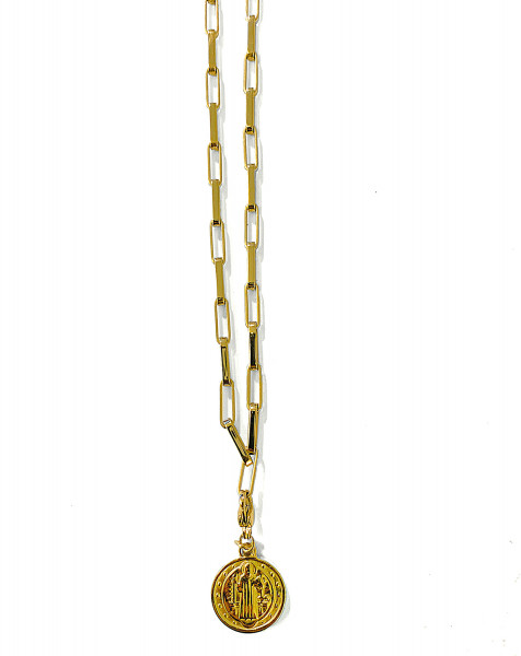 KETTE • ZAG | Medium | Madonna & The Saint Benedict Medal