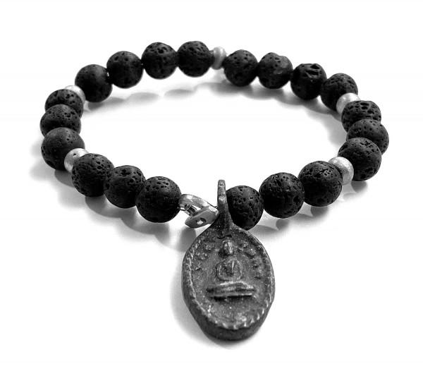 ICON Armband • Shanti Buddha9 | Lava