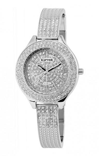 Raptor • Analog Damen-Uhr   Kristall