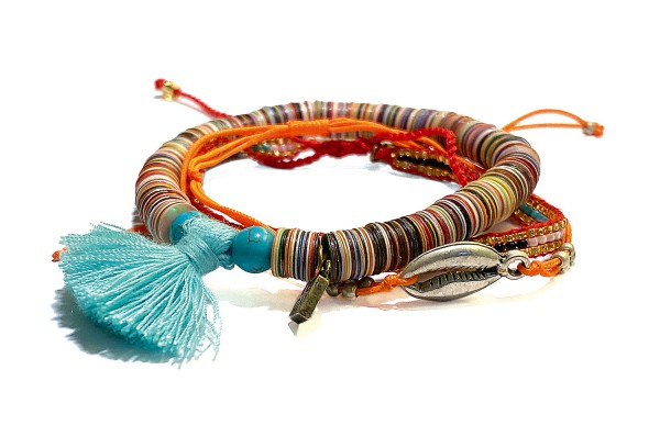 ICON Armband • Nice Tassel | Orange