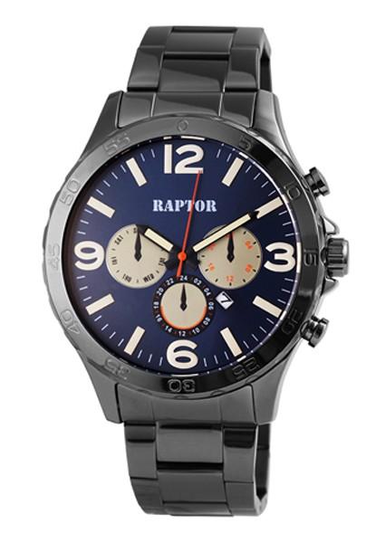 RAPTOR • Analog Herren-Chrono | Stahlband