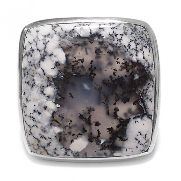 Steinring • Dendriten-Opal
