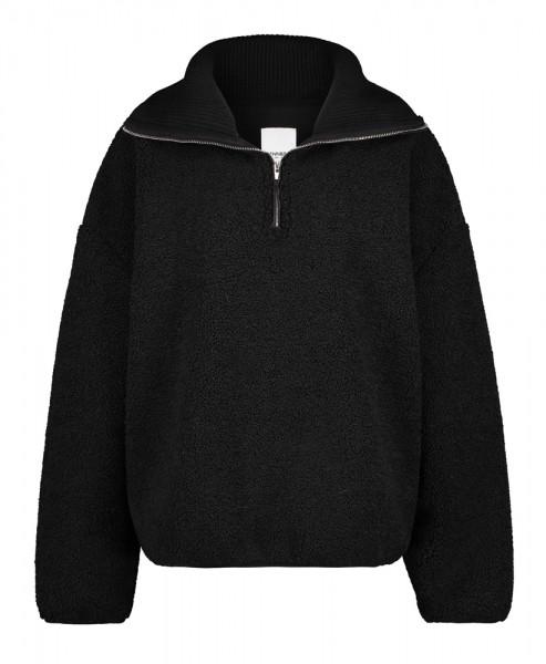 PENN&INK N.Y • Pullover W21Main   Black Teddy