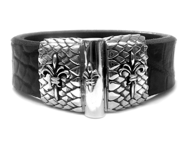 Armband • Lily's + Jointlock • Dragon Scales | Croco