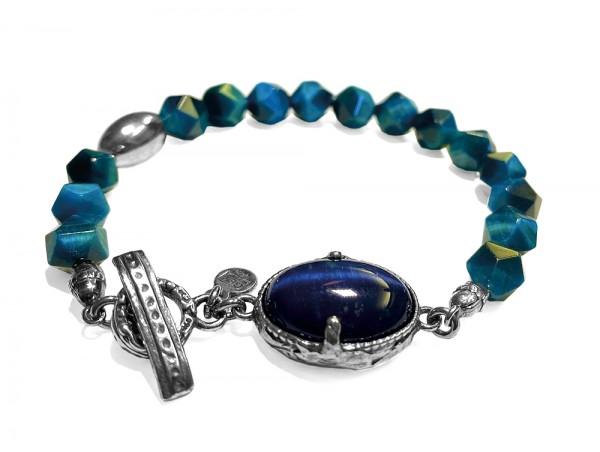 Armband • H2O | Blue Tigereye | Stone