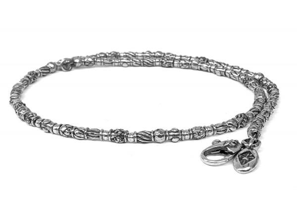 Halskette • Neckchain Mini Tubes Decor & Mini Balls