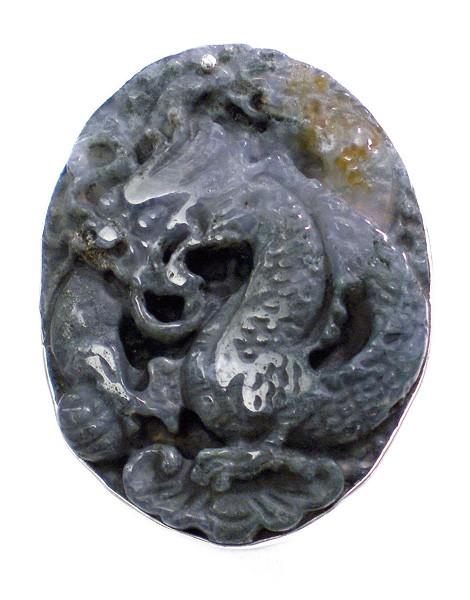 Steinring • Chinesische Jade | Dragonstone