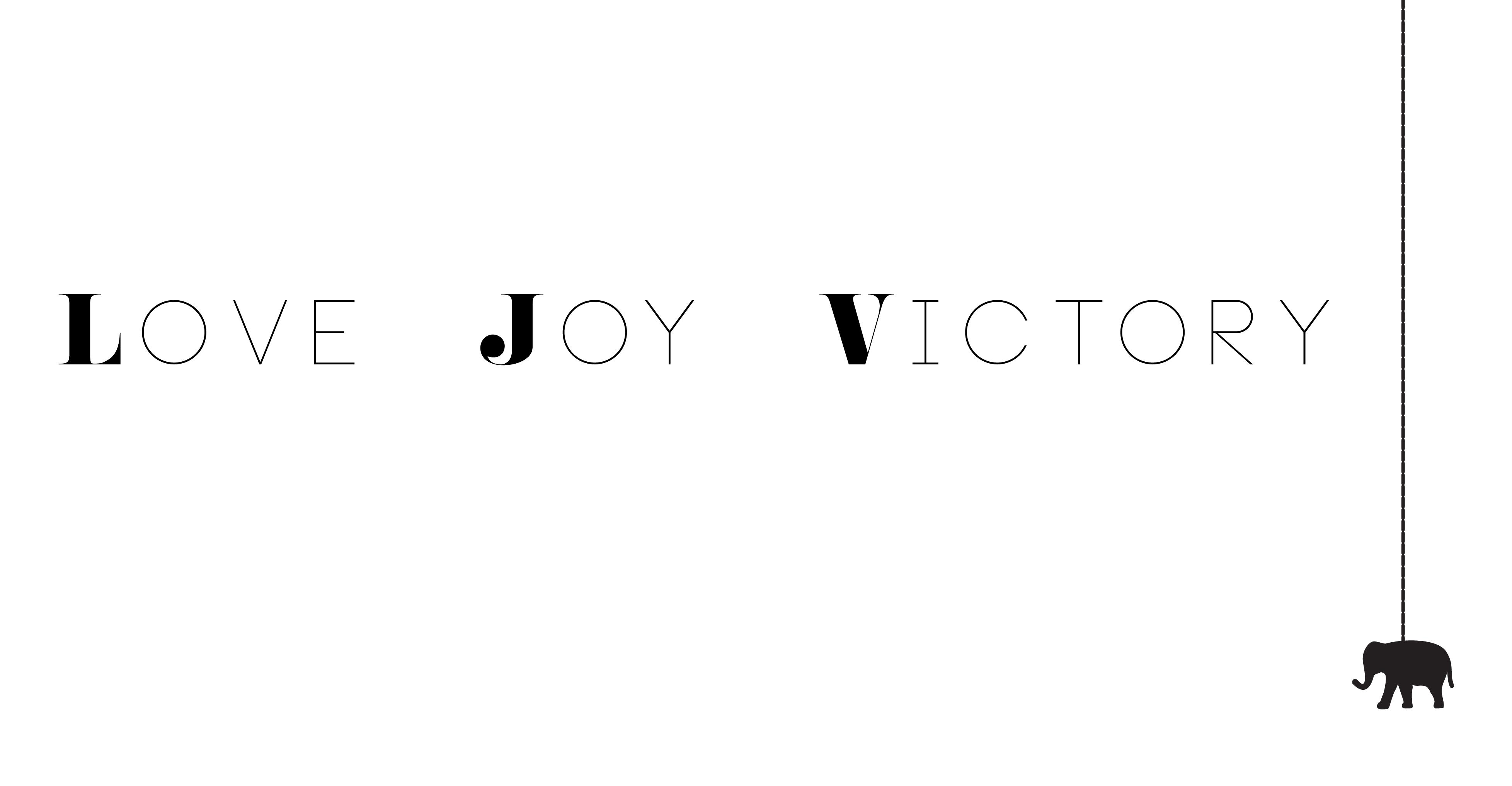 LOVE JOY VICTORY