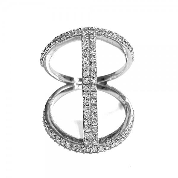 Ring • Glam | Rhodiniert | Rosé Plattiert