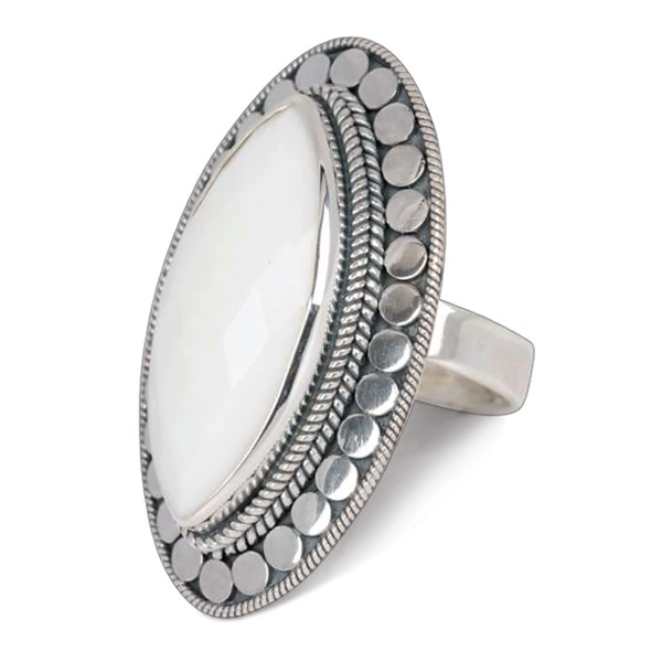 Ring • Gypsy Blessing | White Agate