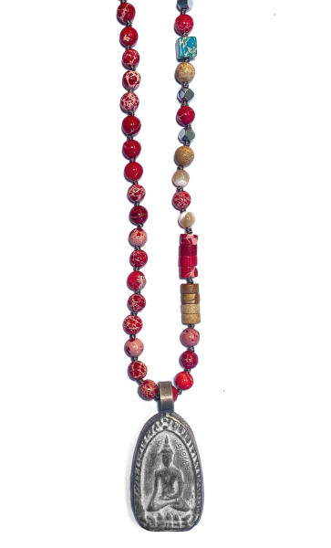 Kette • ICON Buddha26 | Red Mix