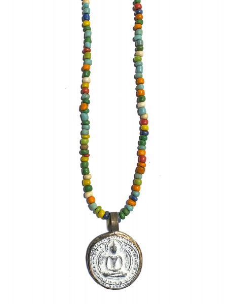 ICON • Kette Buddha30 | Green-Mix