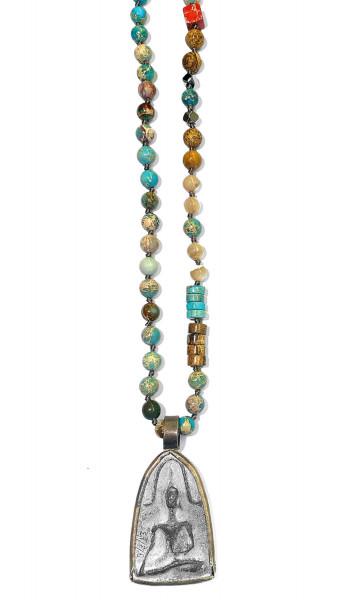 ICON • Kette Buddha52 | Turquoise Mix