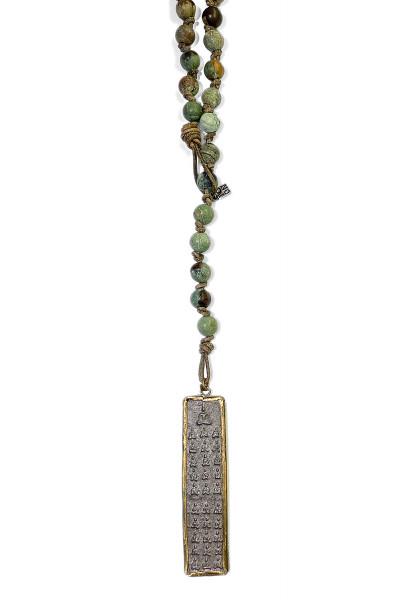 ICON • Kette Buddha61 Leather   Opal