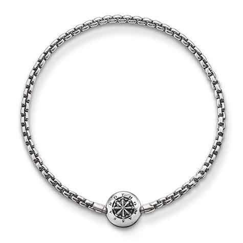 Thomas Sabo   Rebel at Heart • Armband Karma Beads   Black
