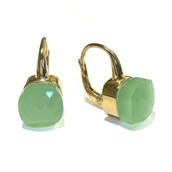 Ohrringe • Chiodo | Gold Plattiert | Mint