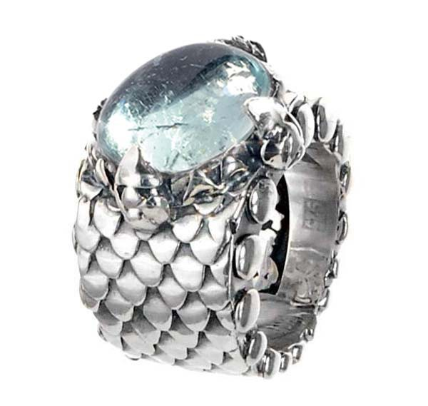 Ring • Dragon Claw | Aqua