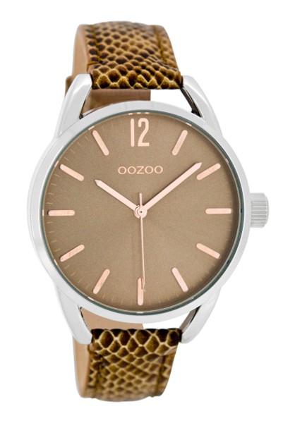 OOZOO | Damenuhr C8338 | Brown Croco