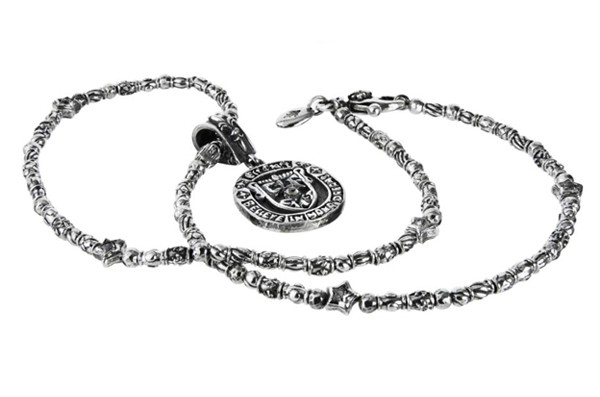 Halskette • Mini Tubes dec & Mini Stars | Anhänger • Believe Coin L