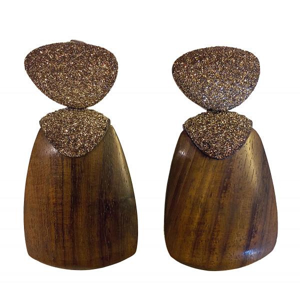 Ohrringe • KMO | Wood Brown