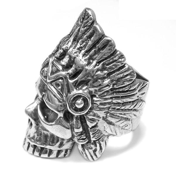 Ring • Skull | Indian