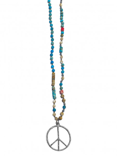 ICON • Kette Peace | Turquoise Mix