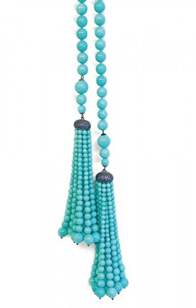 Kette • Tassel   Turquoise