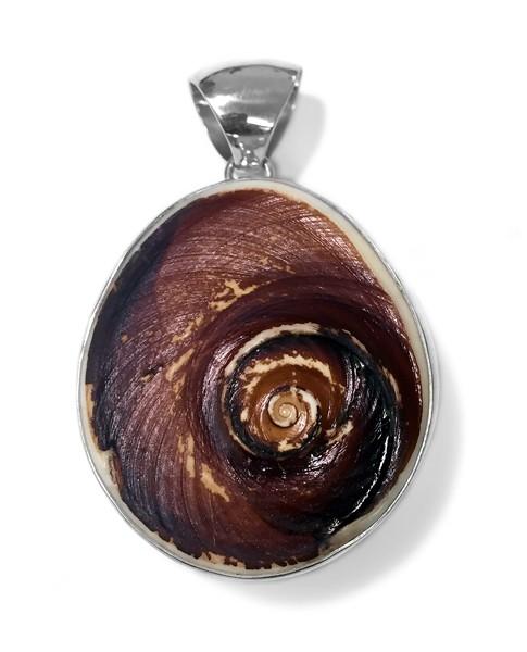 Steinanhänger • Ammonit Muschel