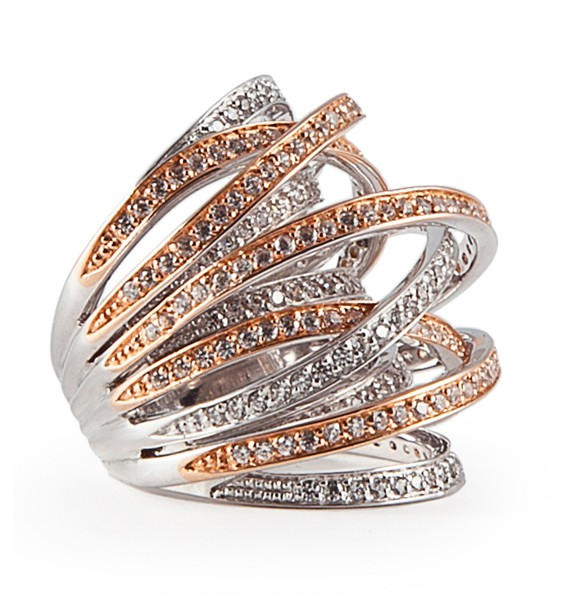 Ring • Archi Bicolore Rosé