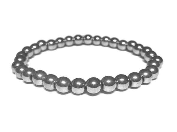 Steinarmband • Hämatit | Kugel Small