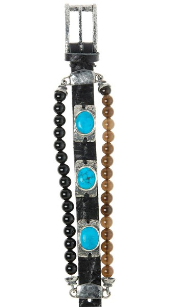 Armband • Facetted Plates | Oval Holder