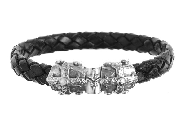 Armband • Smith Cross Jointlock Facetted | 10