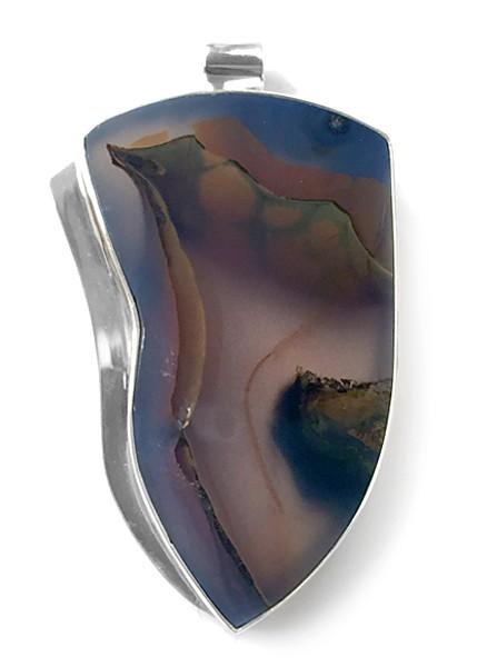 Steinanhänger • Brasilianischer Achat