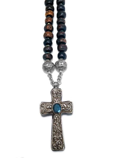 Mala-Kette • Bodhi | Cross