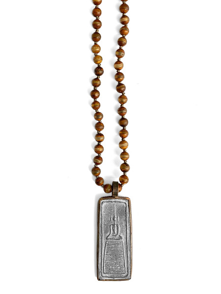 ICON • Kette Buddha71   Brown   Orange   Grey   Aqua