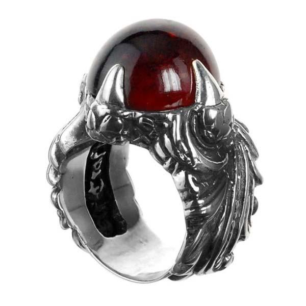 Ring • Magic & Plant L Band & Dragon Claw | Garnet