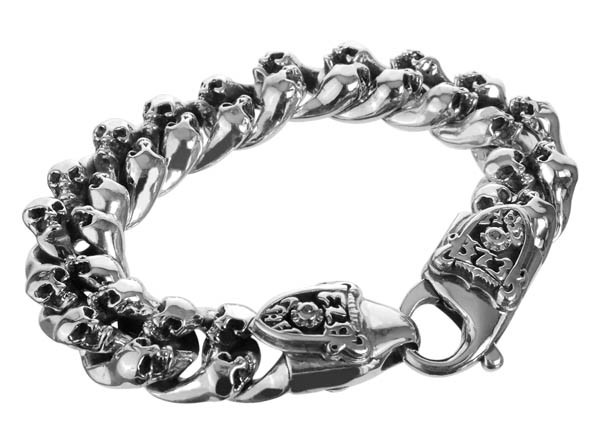 Armband • Mini Skulls & Meteorite