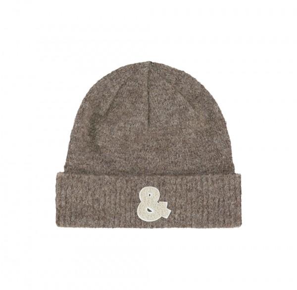 PENN&INK N.Y • Mütze • Hat Beanie | W21Main | Taupe | Tiger