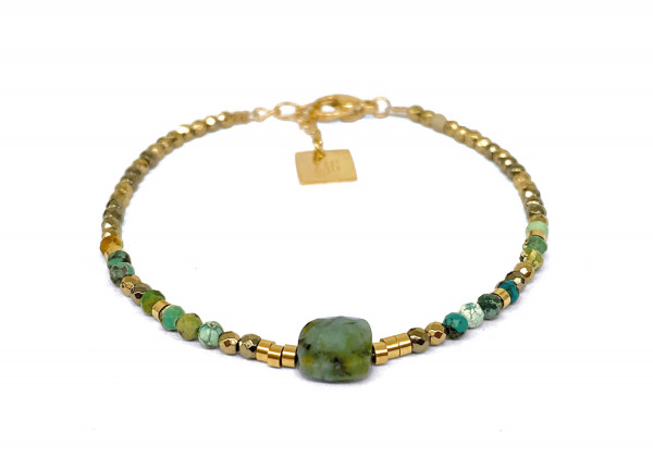 Armband • ZAG   Stonebead   African Turquoise