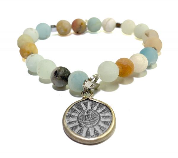 ICON Armband • Shanti Buddha10 | Amazonite