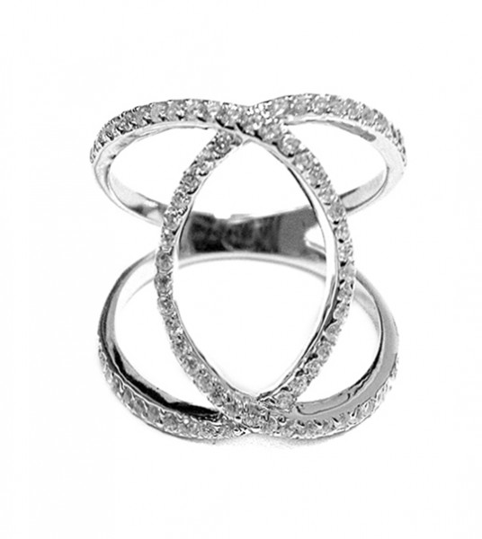 Ring • Intersected Oval