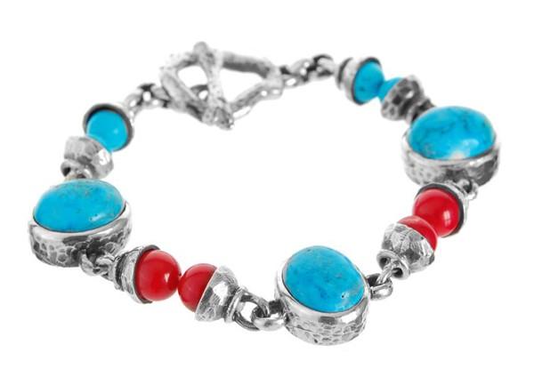 Armband • Beads & Cabochon Stones